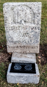 GEORGE HUFFMAN PLAQUE